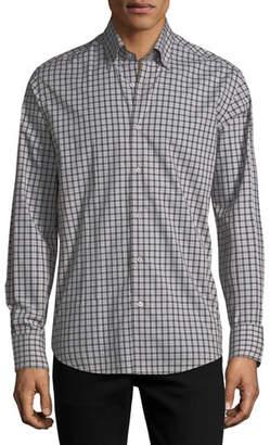 Neiman Marcus Striped Sport Shirt