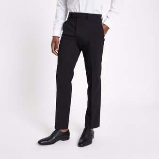 River Island Black tailored fit suit pants