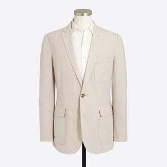 J.Crew Factory Thompson unstructured linen-cotton blazer