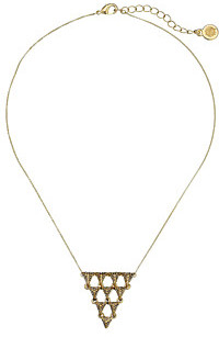 House Of Harlow Tambora Triangle Necklace