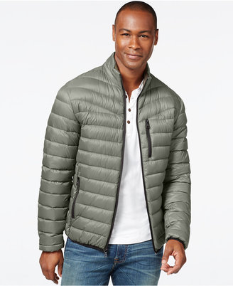 INC International Concepts Solid Down Packable Jacket, Only at Macy's $195 thestylecure.com