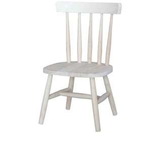 INC International Concepts International Concepts Unfinished Tot's chair (set of 2)