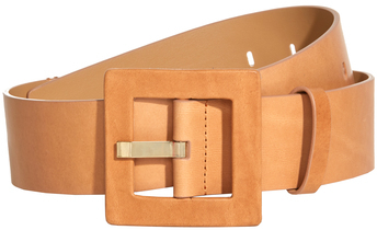 Alice + Olivia Val Leather Belt With Wrap Buckle