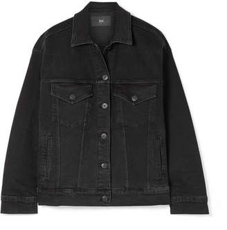 3x1 Oversized Denim Jacket - Black