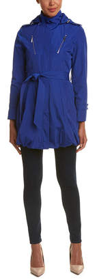 Laundry by Shelli Segal Belted Anorak Coat