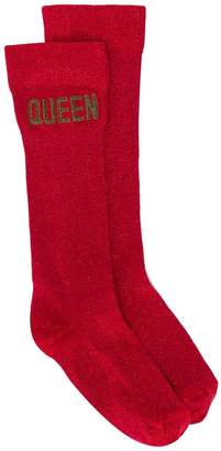 Dolce & Gabbana Queen socks