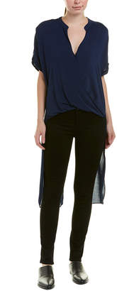 BCBGeneration High-Low Hem Top