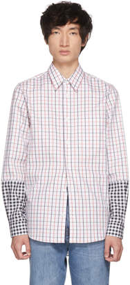 Stella McCartney White Ryder Contrast Pattern Shirt