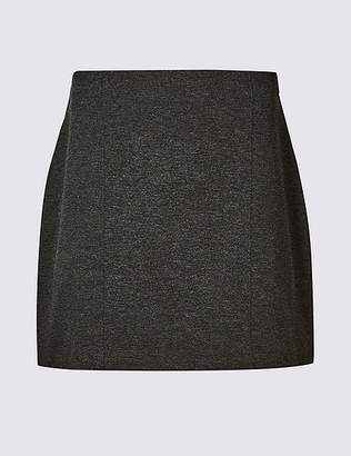 Marks and Spencer PETITE Jersey A-Line Mini Skirt