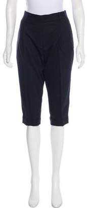 Prada Mid-Rise knee-Length Shorts