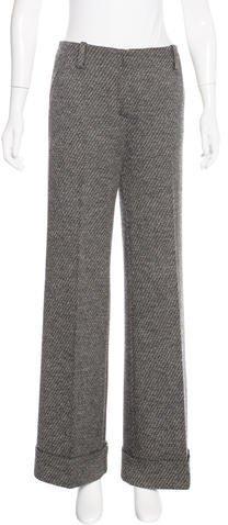 Missoni Wool Wide-Leg Pants