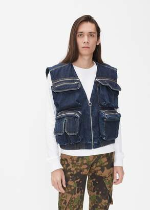 Off-White Denim Vest