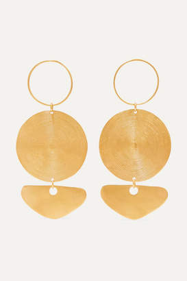 Paula Mendoza Cano X CANO x Citara Gold-plated Earrings - one size