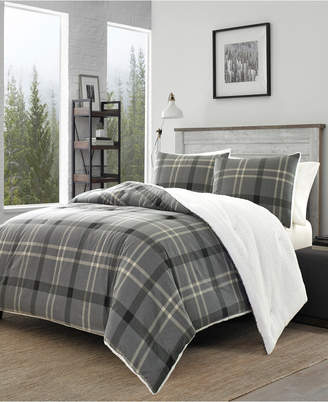 Eddie Bauer Yarrow Point Grey King Comforter Sham Set