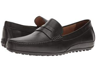 e63c10f60c3 Florsheim Mens Black Suede Loafers