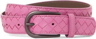 Bottega Veneta Classic Woven Leather Belt