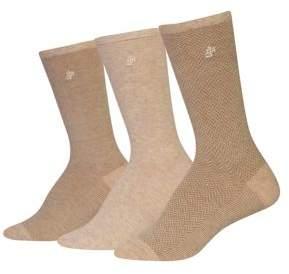 Ralph Lauren 3-Pack Tweed Trouser Socks