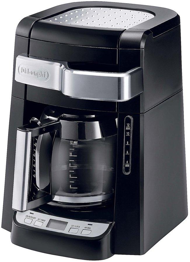 DeLonghi 12-Cup Glass Carafe Drip Coffee Maker - Black