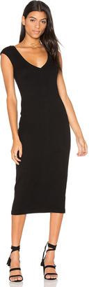 James Perse V Neck Dress $225 thestylecure.com