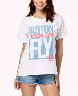 Levi's Cotton Button Your Fly Graphic T-Shirt