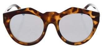 Le Specs Neo Noir Mirrored Sunglasses
