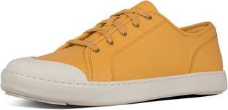 FitFlop Christophe Toe-Cap Leather Sneakers