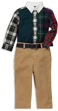 Ralph Lauren Boys' Fun Shirt & Belted Chino Set - Baby