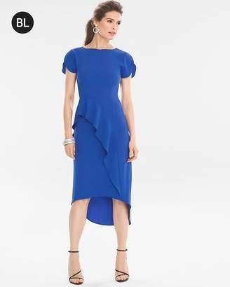 Black Label Flounce Dress