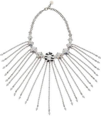 Miu Miu fringed crystal necklace