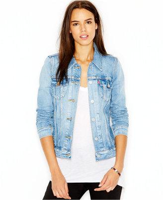 Levi's® Boyfriend Trucker Jacket $69.50 thestylecure.com
