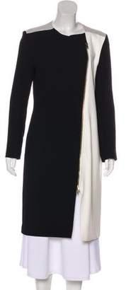 Roland Mouret Wool Long Coat