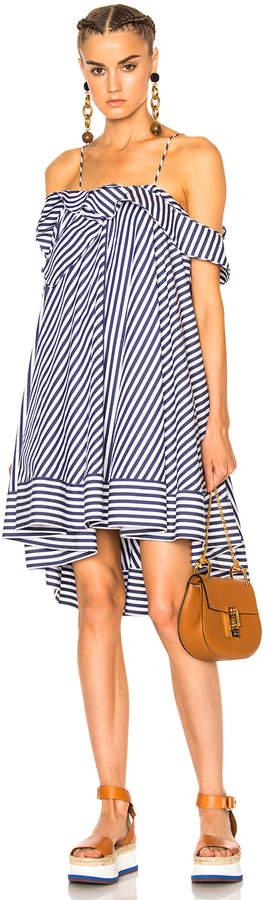 MSGM Striped Mini Dress
