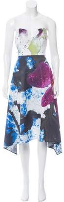 Angelys Balek Sleeveless Printed Dress w/ Tags