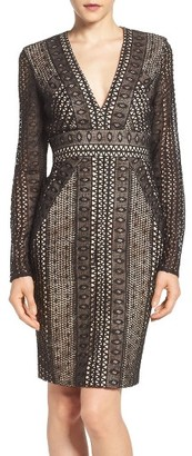 Women's Bardot Allegra Lace Sheath Dress $159 thestylecure.com