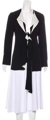 Marni Collarless Lightweight Jacket