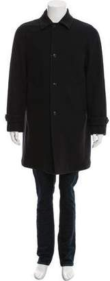 Boglioli Wool Car Coat w/ Tags