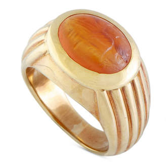 Bulgari 18K Citrine Ring
