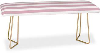 Deny Designs Allyson Johnson Mauve Stripes Bench