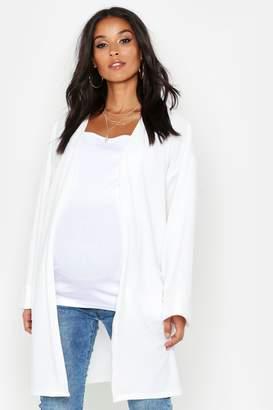 boohoo Maternity Kimono Duster Jacket