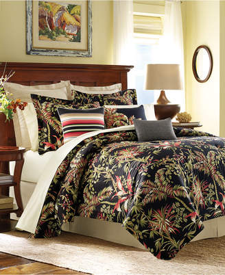 Tommy Bahama Home CLOSEOUT! Jungle Drive Floral-Print Full/Queen 4-Pc. Comforter Set