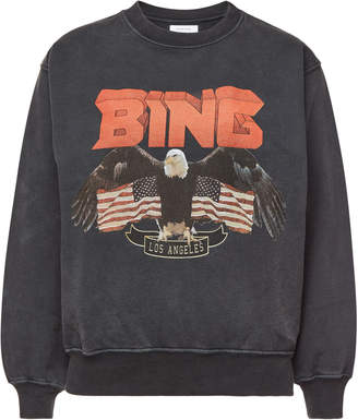 Anine Bing Cotton Vintage Bing Sweatshirt
