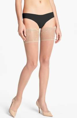 Donna Karan New York Lace Top Stay-Up Stockings