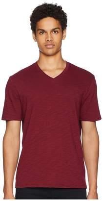 Vince Classic Slub V-Neck T-Shirt Men's T Shirt