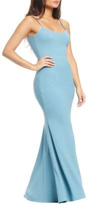 Dress the Population Jodi Crepe Evening Dress