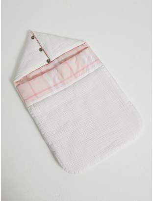 Burberry Quilted Cotton Baby Nest