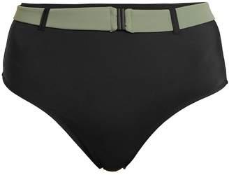 Solid & Striped The Josephine belted high-rise bikini briefs