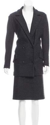 Bottega Veneta Wool Knee-Length Skirt Suit w/ Tags