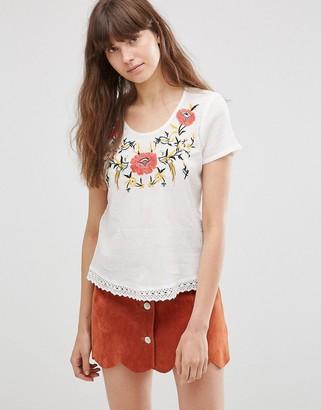 Vero Moda Floral Short Sleeve T-Shirt $36 thestylecure.com