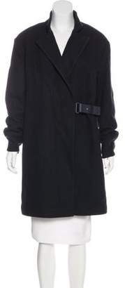 Eleventy Knee-Length Wool Coat