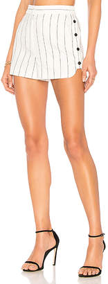 Tibi Stripe Shorts